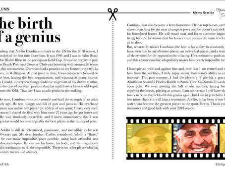 The Birth Of A Genius