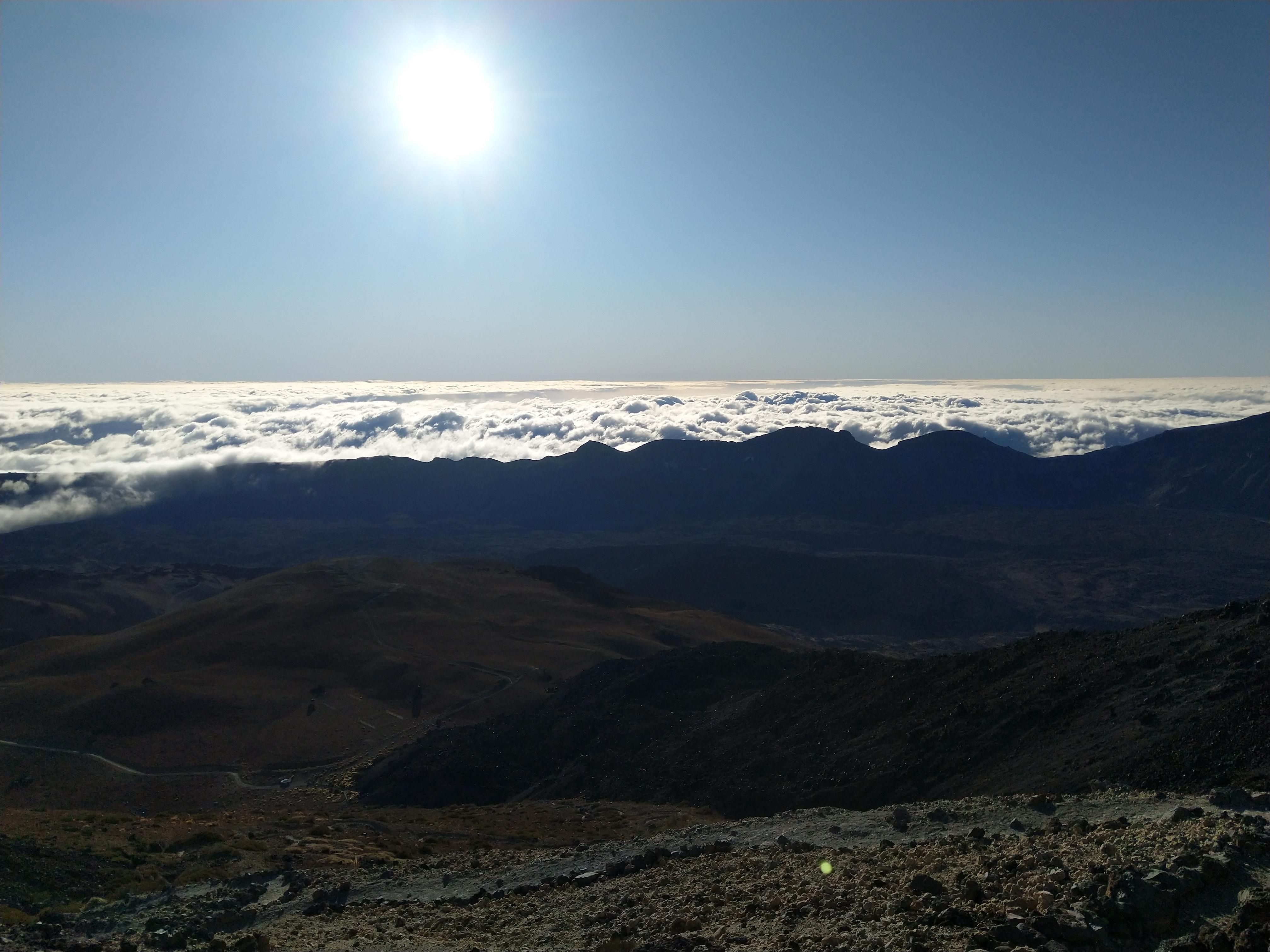 Aussicht vom El Teide