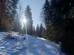 Schneeschuhtour Jura Haute Route 1