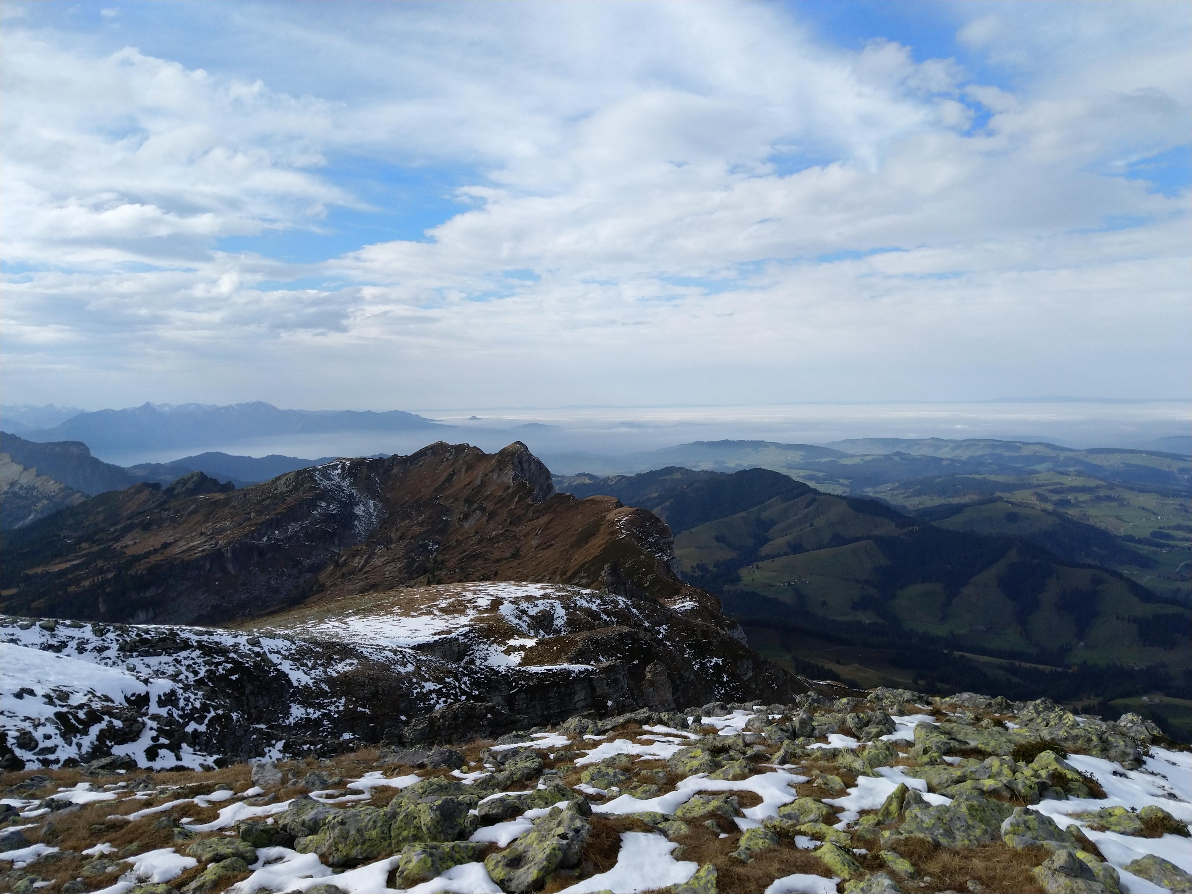 Gipfel Hohgant