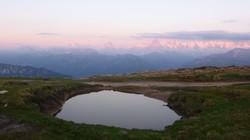 Bergsee auf dem Niederhorn
