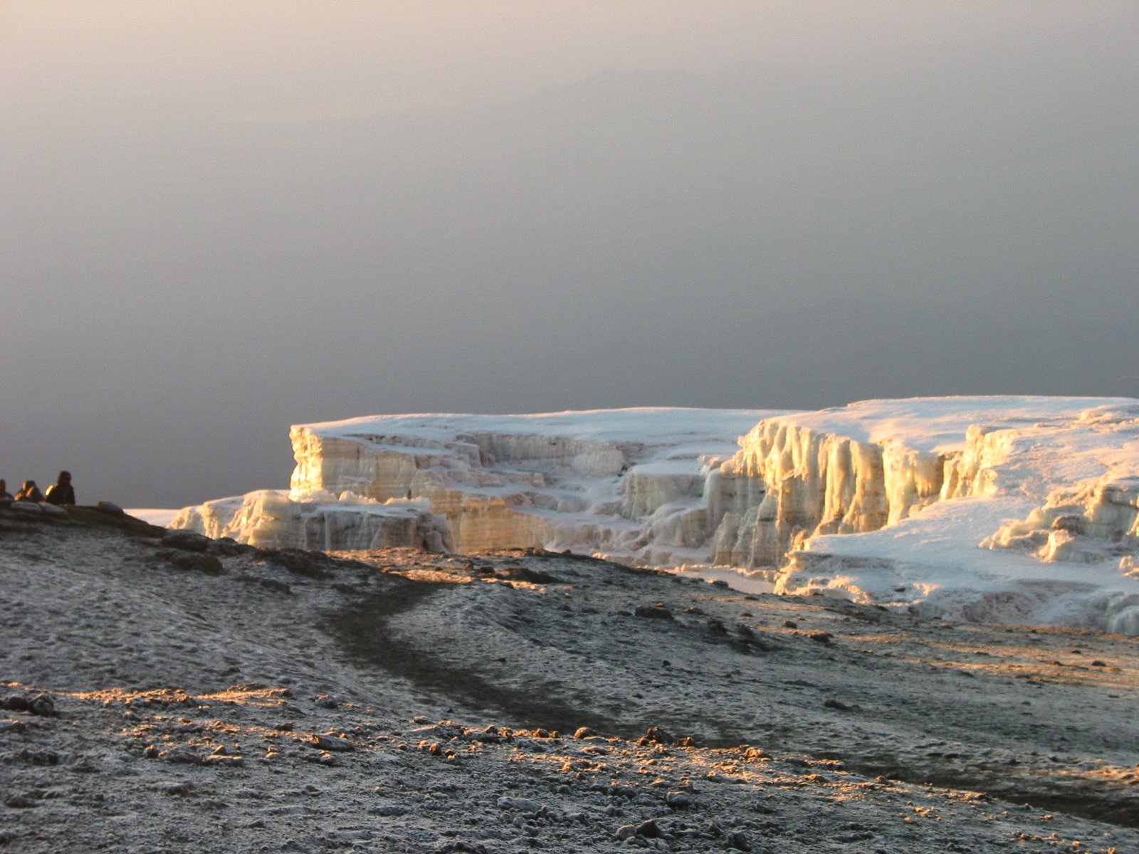 Rückweg Kilimandscharo