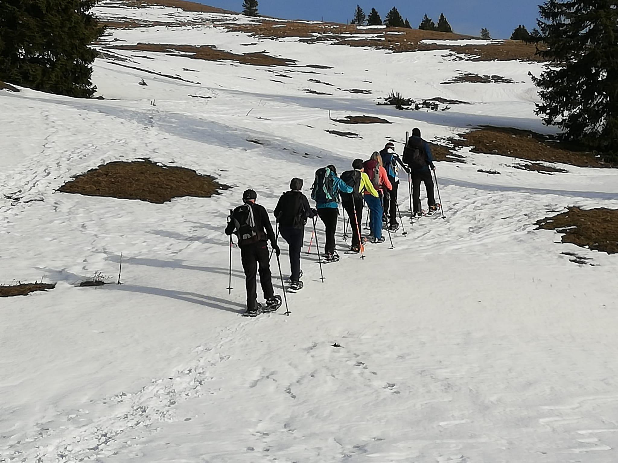 Meine Gruppe Jura Haute Route 1