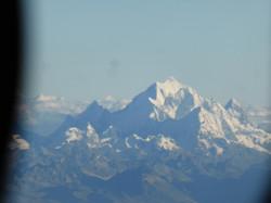 Huascaran aus dem Flugzeug