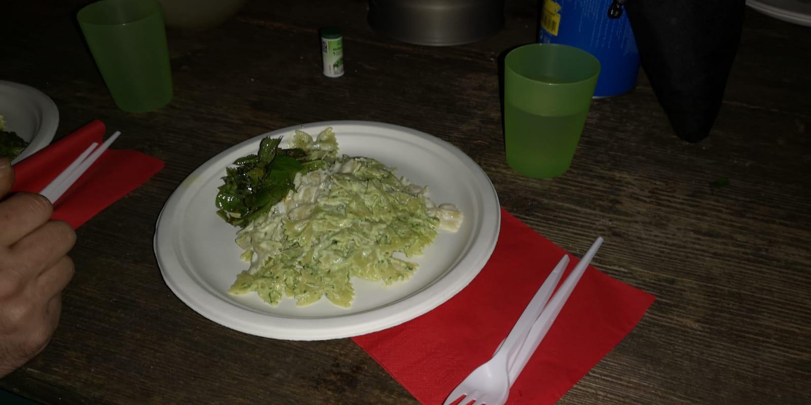 Abendessen - Bärlauchpesto