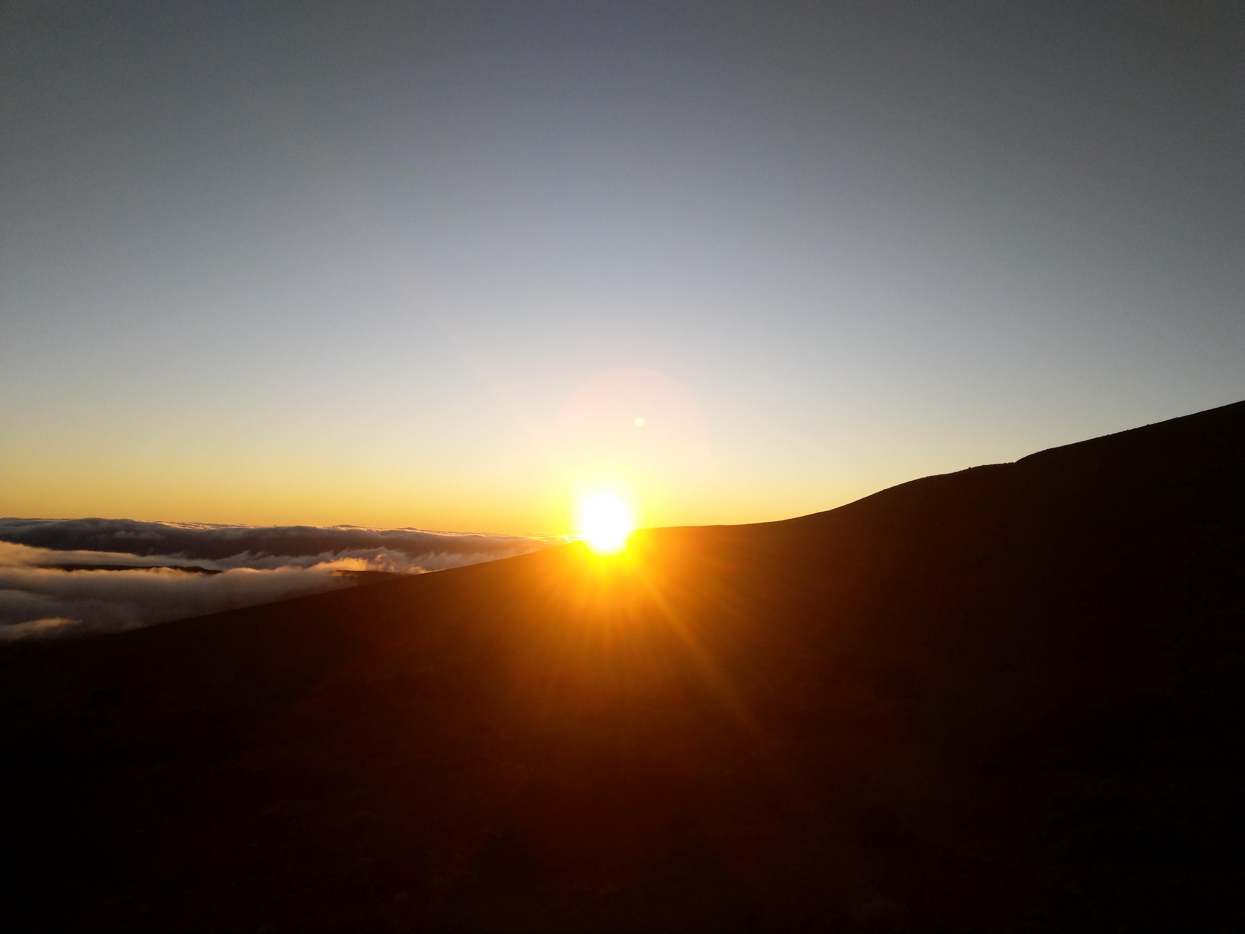 Sonnenaufgang auf dem Teide