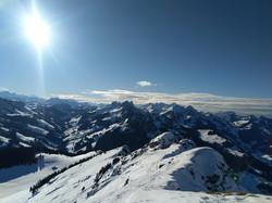 Unglaubliches Panorama auf dem Bäderhorn