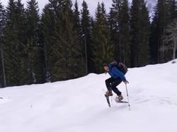 Schnee-Jump