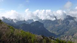 Aussicht au dem Pico Ruivo