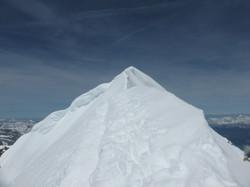 Grat zum Gipfel vom Mönch