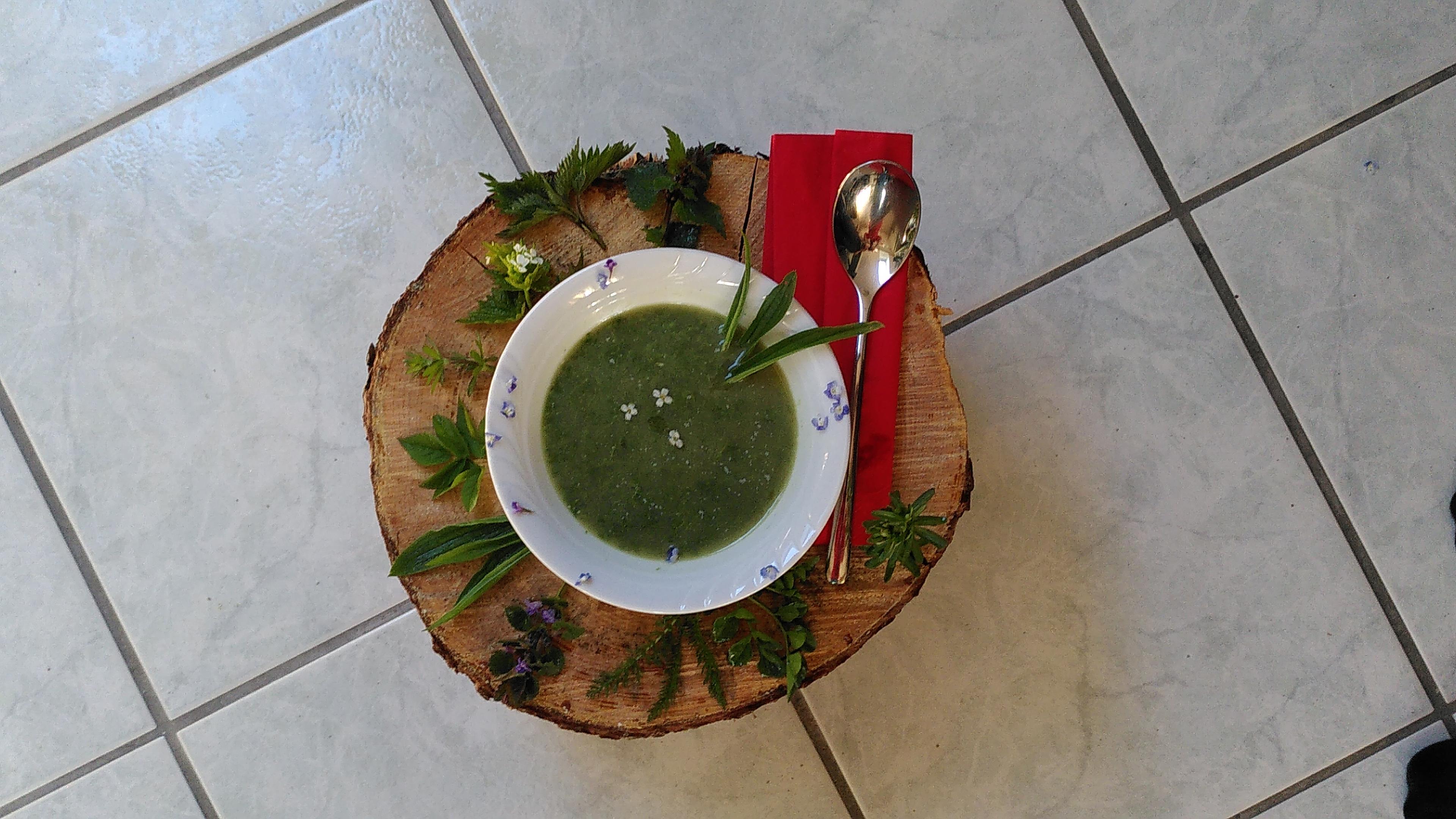 Die grüne Neune Suppe