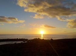 Sonnenuntergang in Madeira
