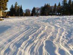 Schnee Dünen