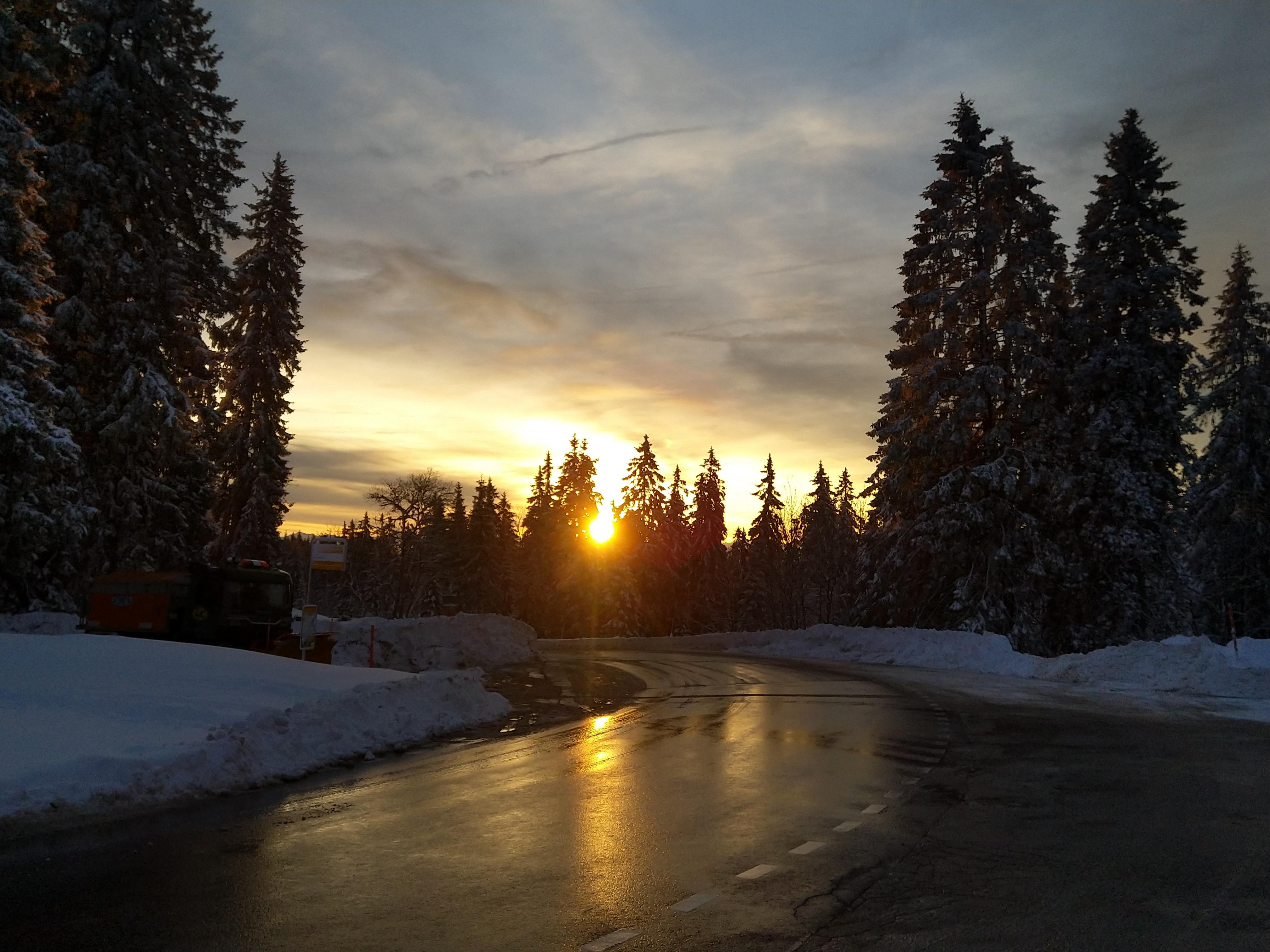 Sonnenaufgang Col du Marchairuz