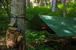 Tarp aufstellen mit - go-trekking.ch