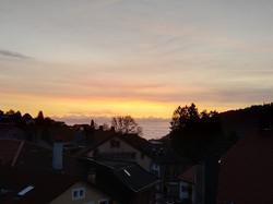 Sonnenaufgang in Ste Croix