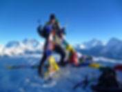 Top of Mera Peak Nepal