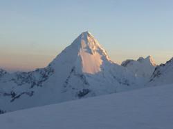 Top of Nevado Pisco