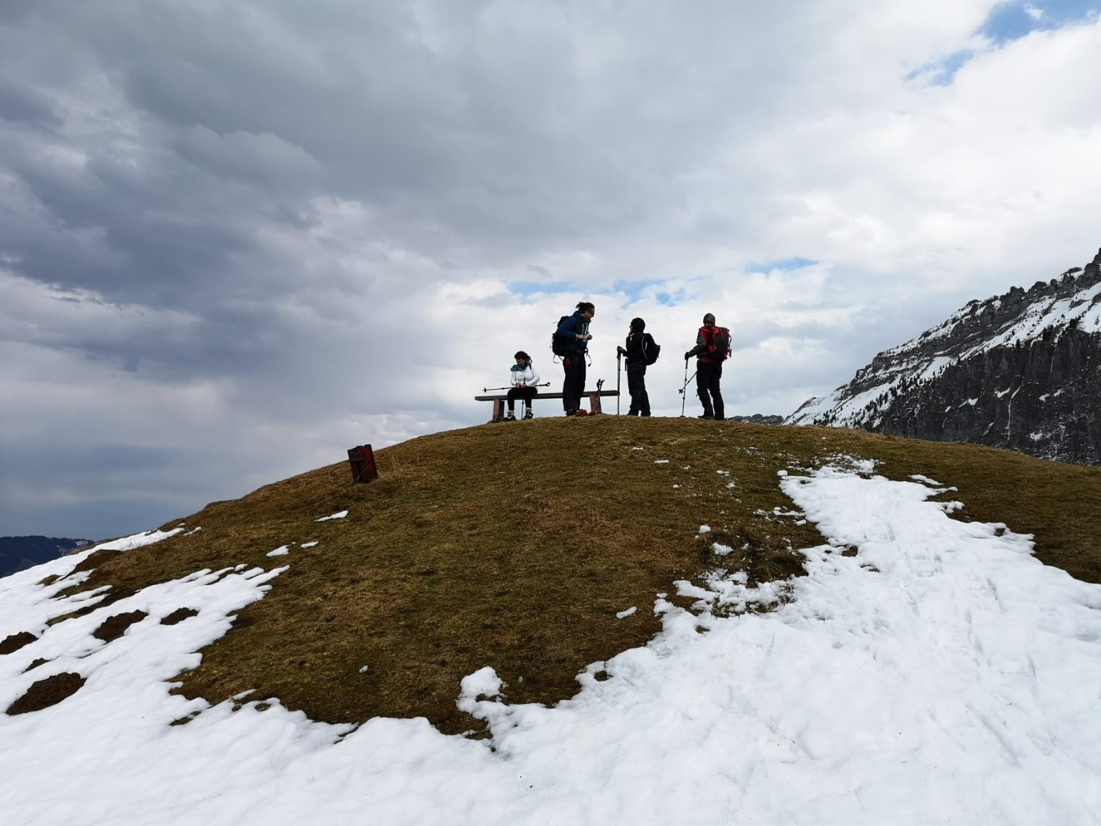 Schneeschuhwanderung Schwanden