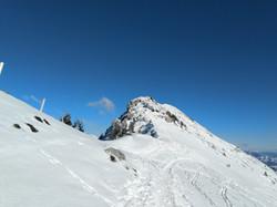 Der Gipfel zum Greifen nah!