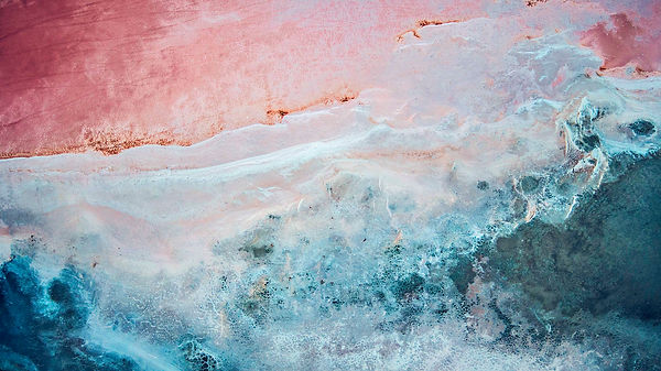 drone salt lakes camargue