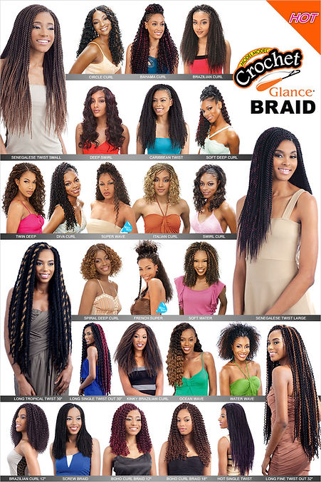 Glance Crocht Braid Chart