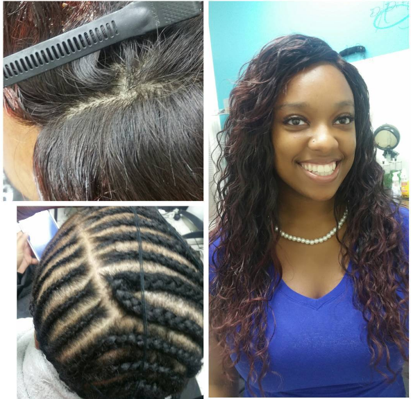 Sew-In W/Closure