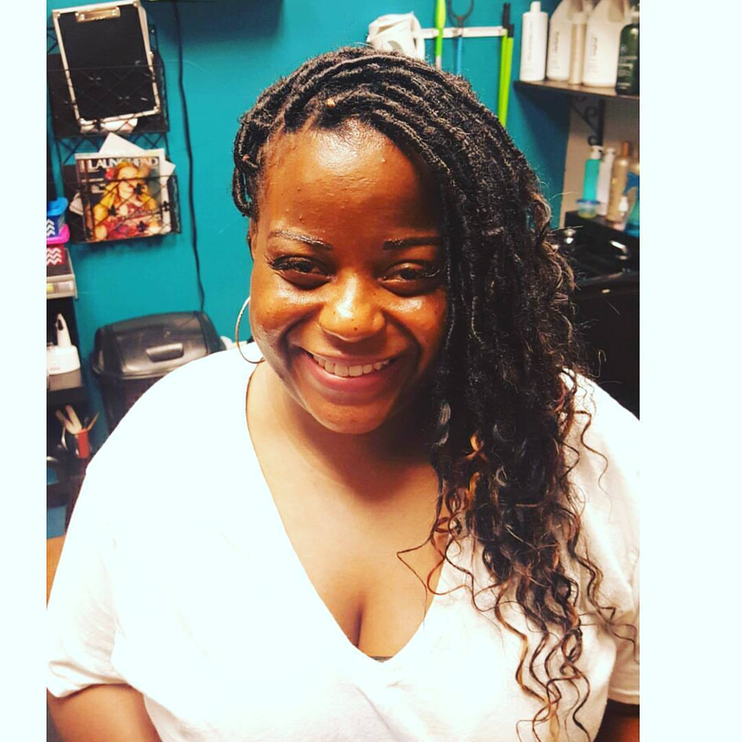 Human Hair Loc Extensions