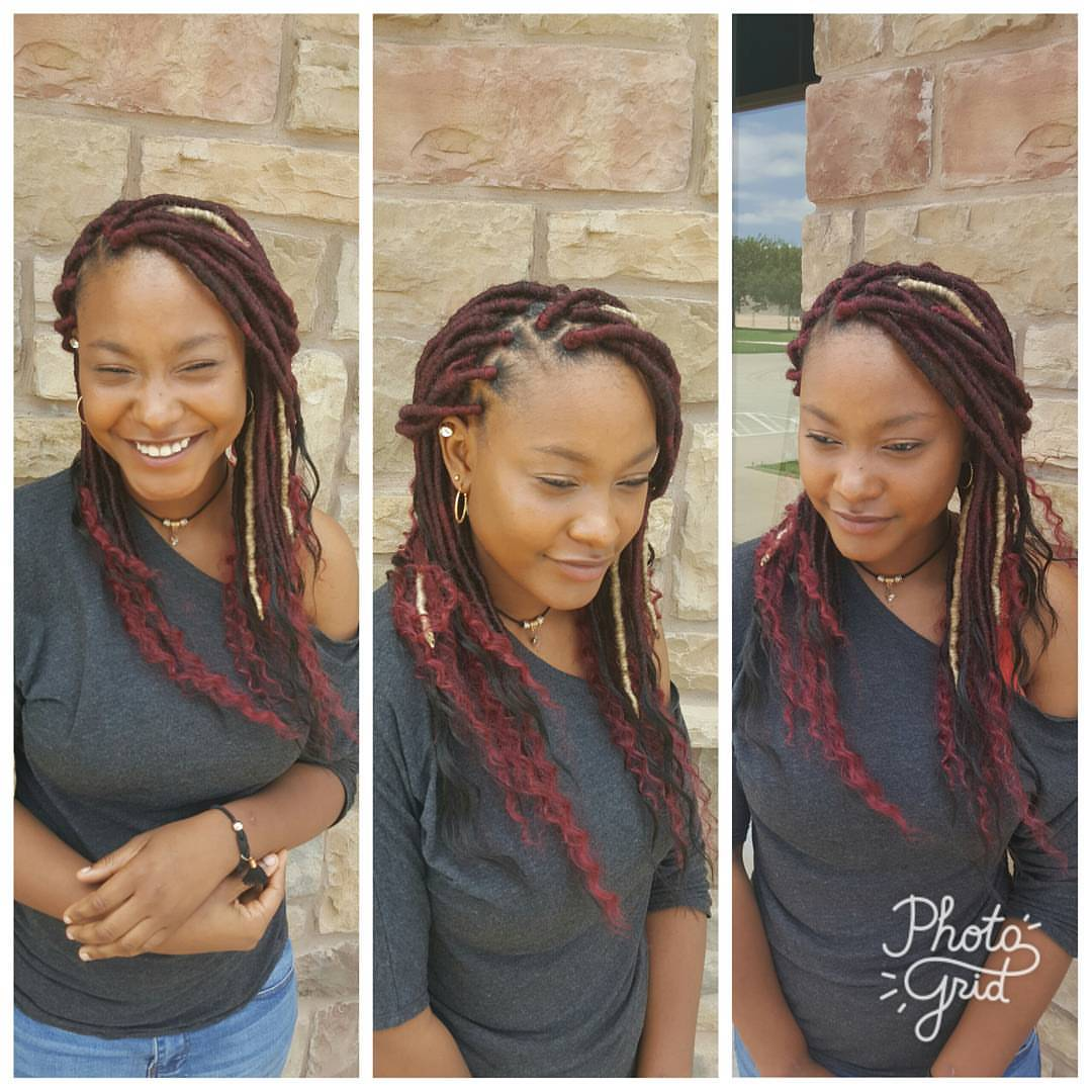Goddess Faux Locs|Custom