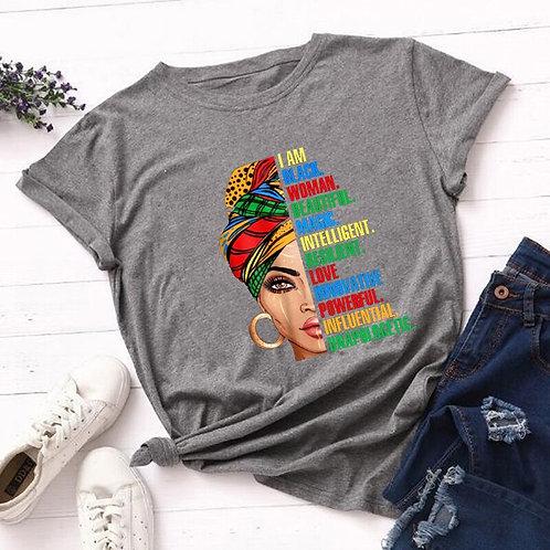 I'm Powerful Black Melanin Graphic T Shirts