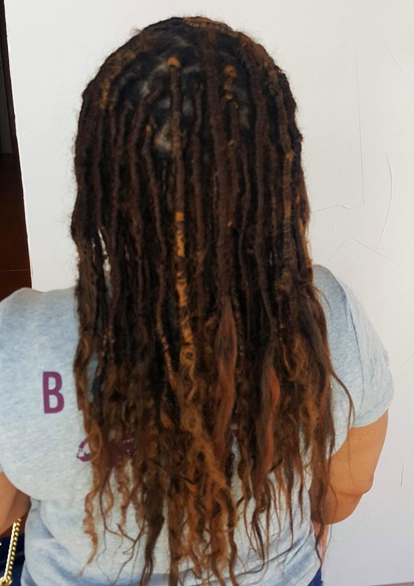 Human Hair Goddess Locs|MBL-3