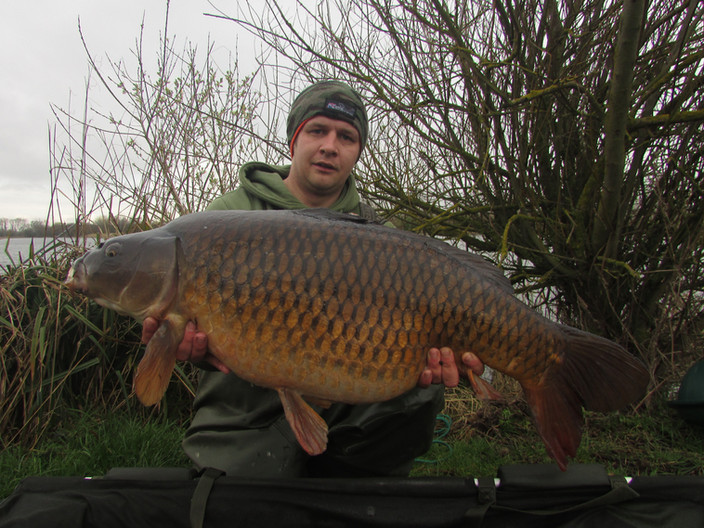 Liam Close: This stunning 33b common was caught from Nene Valley Syndicate on his latest trip using