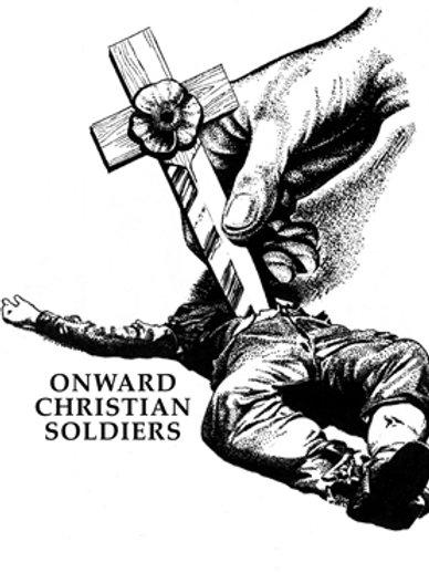 Onward Christian Soldiers - Silkscreen