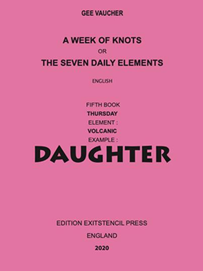 A Week of Knots - Thursday