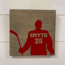 hockey player with name/number