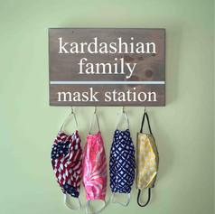 family mask station