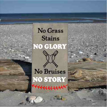 no grass stains