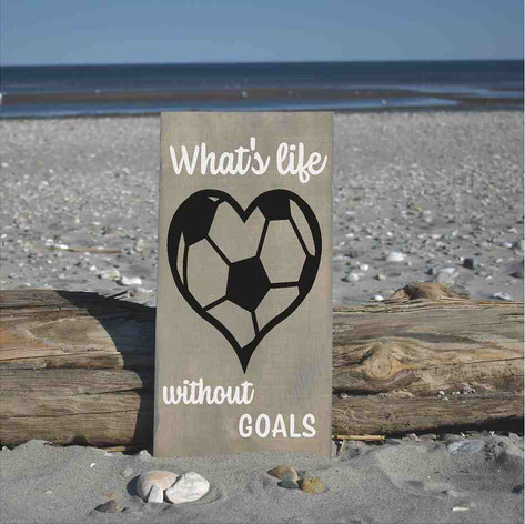 soccerball heart with monogram