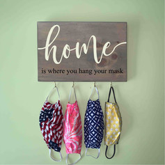 home hang mask