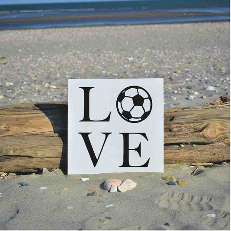soccer ball love