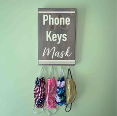 Phone keys mask