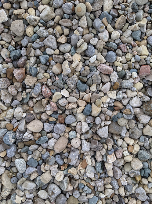 6A Natural Round Stone