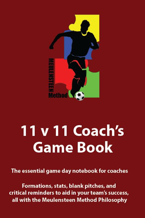 11v11 Game Day Book