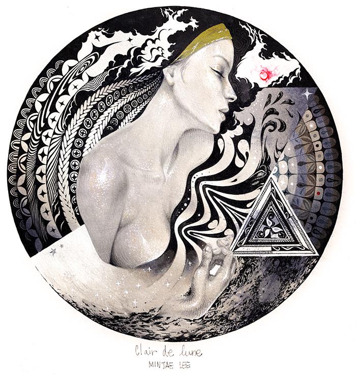 In The Circle #2 - Clair de Lune