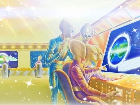 Andromède Collaborer et co-créer avec la conscience planétaire.