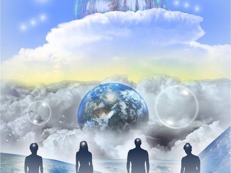 Une vue d'ensemble des Vaisseaux de Lumière qui se rapprochent de nous… (1 de 6)