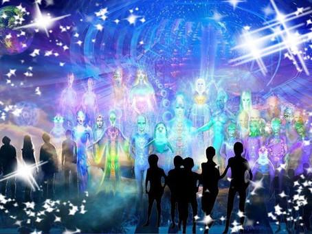 À propos des vaisseaux de lumière qui se rapprochent de nous