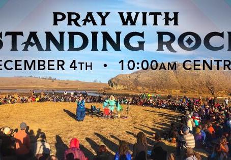 Soutenons par nos méditations quotidienne Standing Rock Au nom De GAÏA