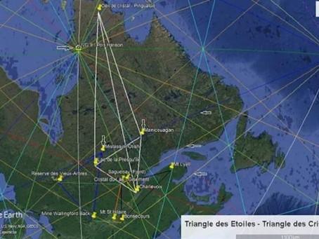 Le Triangle Des Étoiles Et Les Triangles Des Cristaux