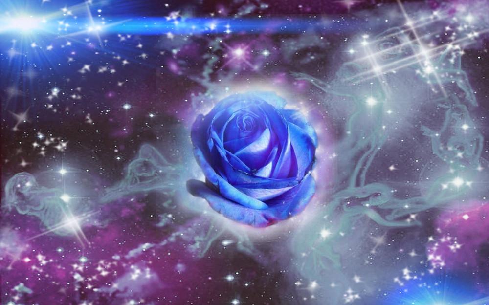 Reconnexion aux fréquences Pléiadiennes et Formation géométrie sacrée de la Rose  Bleue